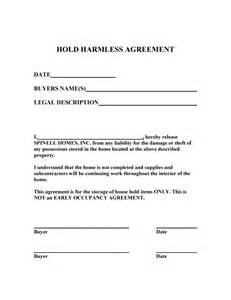 release of liability agreement template doc 400518 liability contract template release of