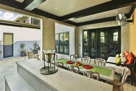 firerock custom home warm modern modern kitchen southpark warm contemporary outdoor kitchen jas am inc