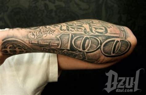 100 bill rose tattoo 20 dollar tattoos tattoofanblog