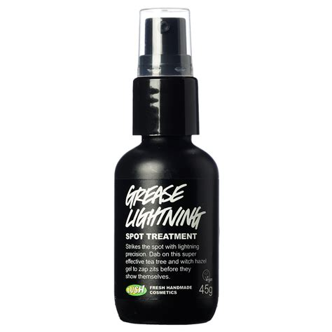 lush grease lightning review lush s grease lightning spot lucadonta