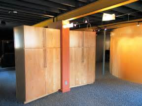 unfinished basement storage solutions best basement storage ideas and solutions best house design