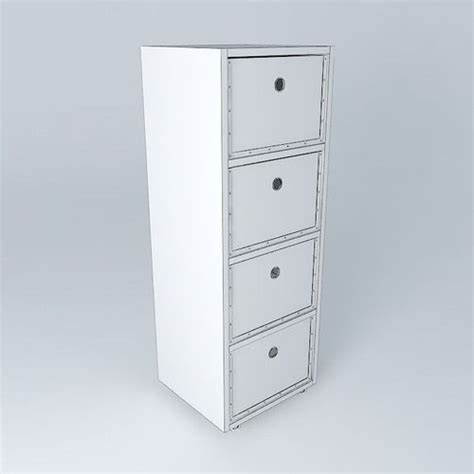 Muji Dresser by Drawers Modern Furniture Muji 3d Model Max Obj 3ds Fbx