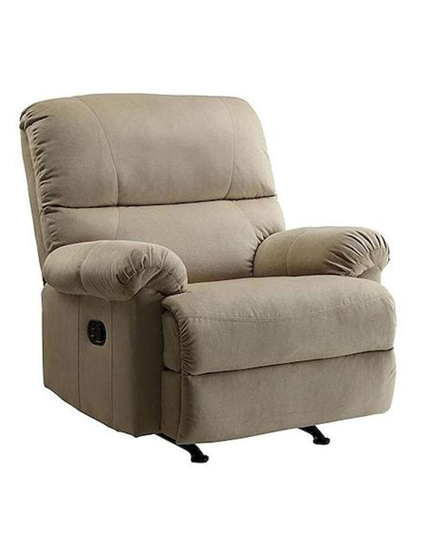 easton rocker recliner pri easton rocker recliner in beige pr ds 1098 007 082