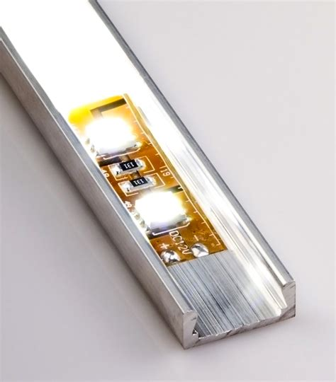 low profile led light low profile surface mount led profile housing for led