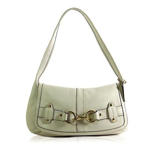 Coach Ergo Belted Leather Medium Purse by Coach Ergo Leather Belted Flap Shoulder Handbag