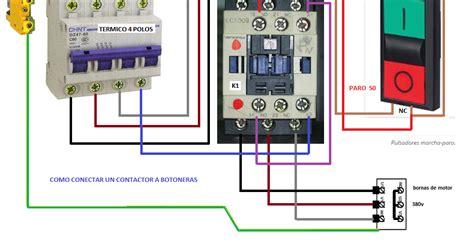 un contactor a botoneras esquemas el ctricos apexwallpaperscom como conectar un contactor a botoneras esquemas el 233 ctricos