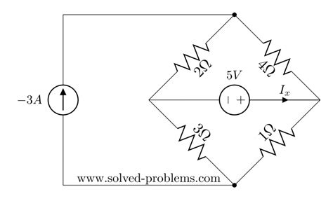 resistor superposition circuits problem superposition method circuit with two sources solved problems