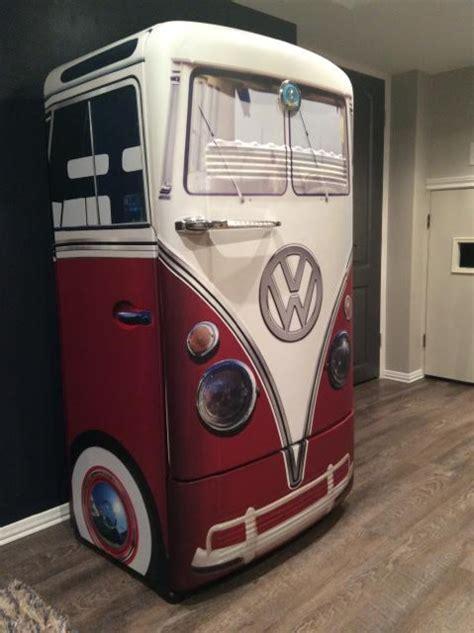 Kitchen Pass Through Design Pictures vintage vw bus agua refrigerator wrap rm wraps