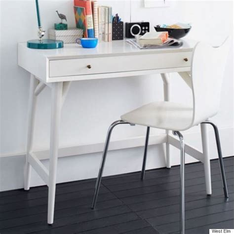 west elm office desk how to set up a functional home office space