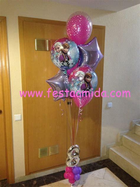arreglos de mesa de globos de frozen decoraci 243 n con globos animaci 243 n fiestas infantiles