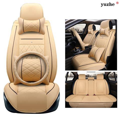 Auto Sitzbez Ge In Leder by Online Kaufen Gro 223 Handel Skoda Leder Sitzbez 252 Ge Aus China