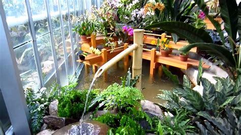 japanese bamboo water fountain  united states botanic