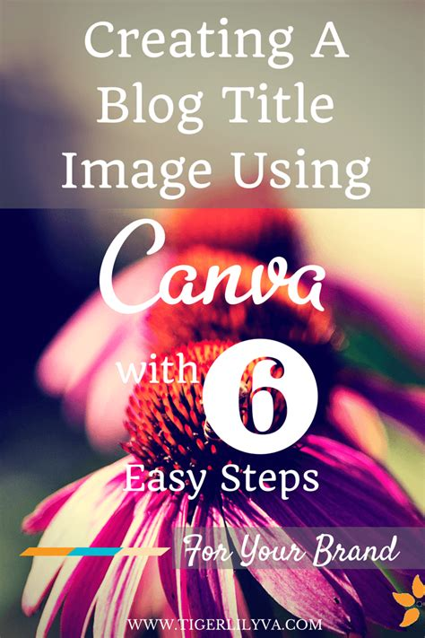 3 simple steps to build your blog using wordpress cms creating a blog title image using canva with 6 easy steps