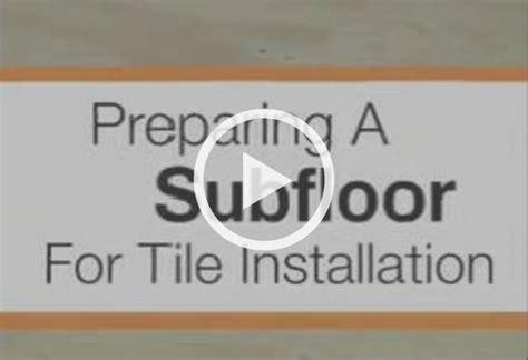 Kitchen Laminate Flooring Ideas Preparing Your Subfloor For Ceramic And Porcelain Floor