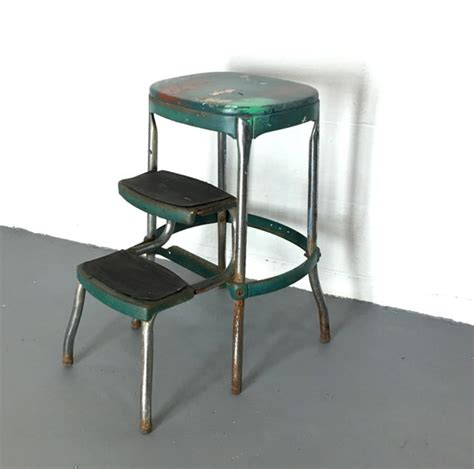 Stool With Fold Out Steps by Vintage Kitchen Stool Cosco Step Stool Folding Step Stool