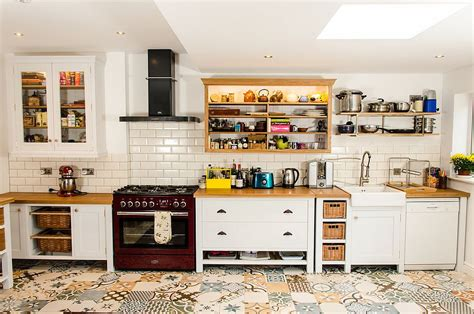 farmhouse kitchen floor 25 creative patchwork tile ideas of color and pattern