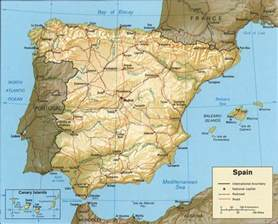 Spain Map With Cities by Spain Map Of Cities Images