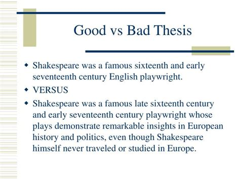bad thesis statement exles vs bad thesis statements proofreadingx web fc2
