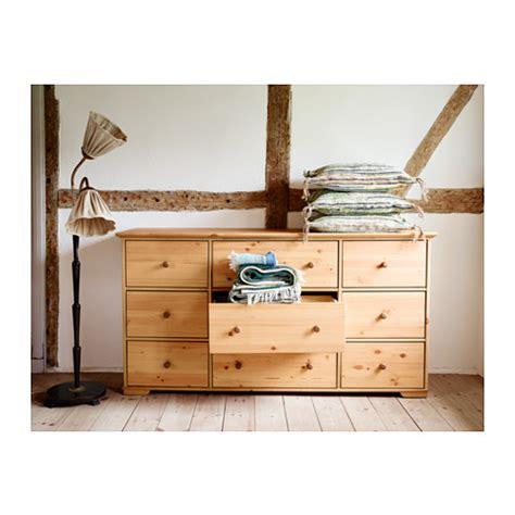 9 Drawer Dresser Ikea by Hurdal Chest Of 9 Drawers Light Brown 176x93 Cm Ikea