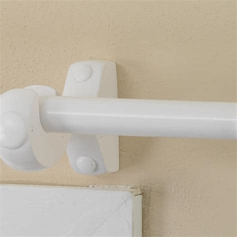 white wooden curtain rod intercrown decorative wood curtain rod 3 4 quot diameter pole