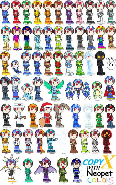 neopet colors copy x with neopet colors by jigglypuffgirl on deviantart