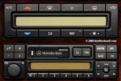 Mercedes Sl500 Audio Sound System