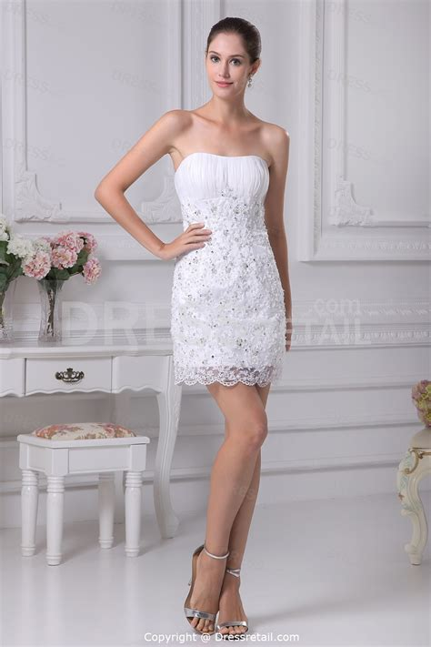 lace summer wedding dresses in short styleCherry Marry