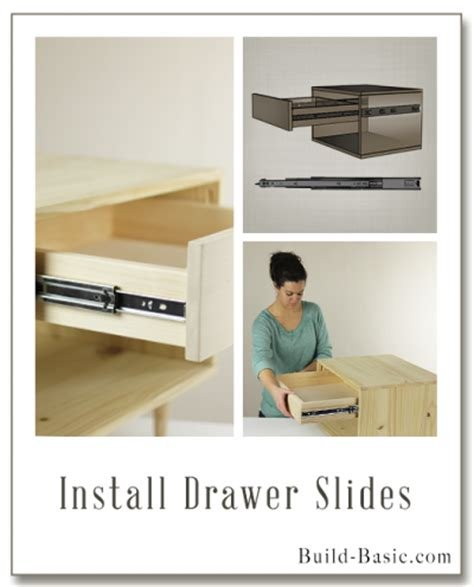 How To Put In Drawer Slides by Build A Basic Diy Drawer Build Basic