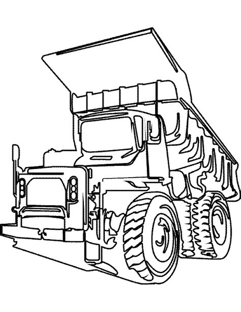 Tonka Truck Coloring Pages tonka truck coloring pages az coloring pages