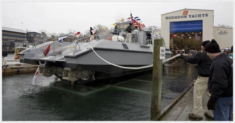 mk v boat just launched mako hodgdon yachts patrol craft mk v 1
