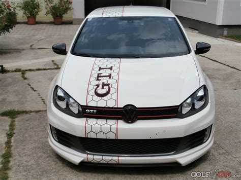 Golf 6 Gti Tuning Aufkleber by Folierungen Am Gti Golf Vi Gti Community Forum