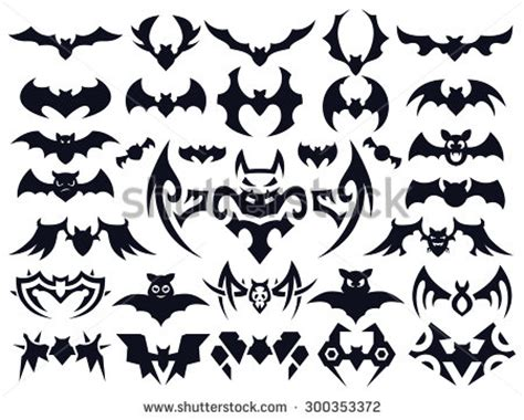 tribal bat tattoos 10 tribal designs