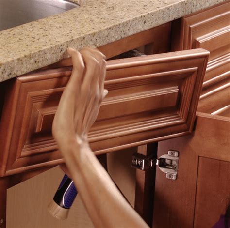 Kitchen Cabinet Costs by Hidden Storage False Front Drawer