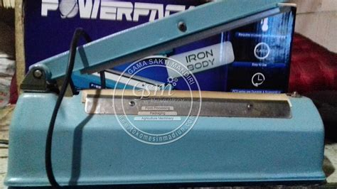 Penyegel Plastik Sealer Powerpack Pcs 300c Untuk Usaha mesin press plastik powerpack pcs 200i toko mesin gama sakti