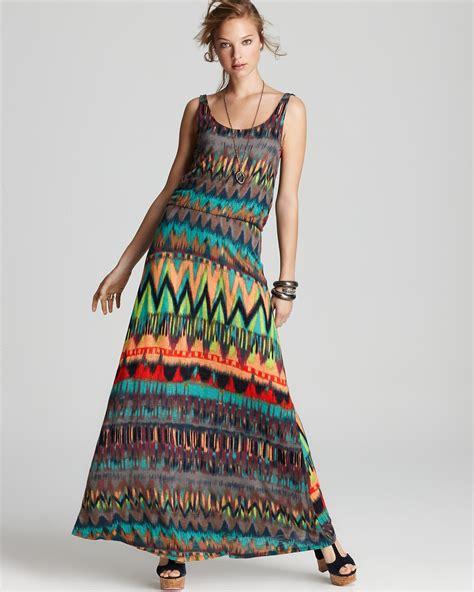 Dress Triball 2 ella moss dress tribal maxi dress bloomingdale s