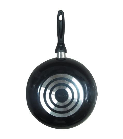 Teflon Fincook 26cm 26cm teflon usa non stick wok pan with pouring spouts heap seng pte ltd
