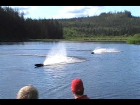 Rc Boat Stringer Komplit 2nd Like New creek rc gas boat wildman mikes second runs mike jumps a outboard leg with rc boat