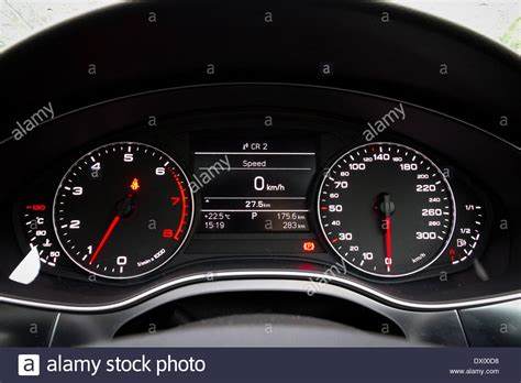 Audi A6 Dashboard Stock Photo Royalty Free Image
