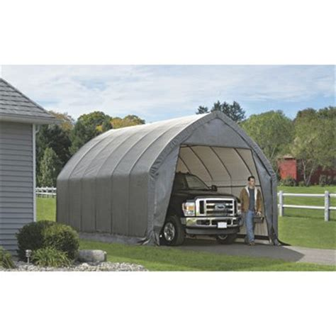 free shipping shelterlogic instant garage in a box for