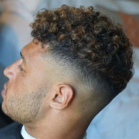 how to cut curly hair on male who has a bald spot curly hairstyles for men