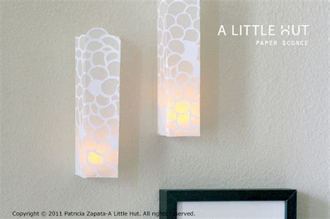 css tutorial little web hut a little hut patricia zapata day 24 paper sconce tutorial