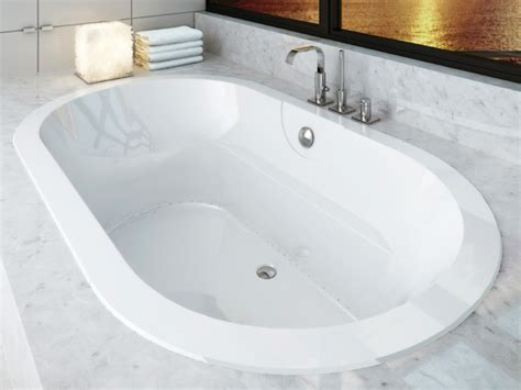Bathtub In by Acryline Acryzen 7242o Oval Bathtub