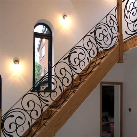 Oak Banisters Creative And Artistic Wrought Iron Gates Railings And