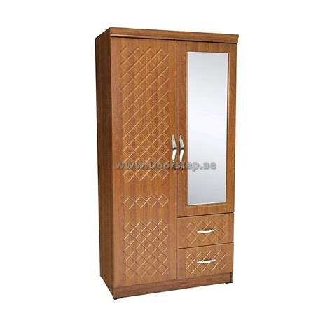 Mirrored Clothes Cabinet Wardrobe Clothes Cabinet 2 Door Plus Mirror Dma 6626 Dubai