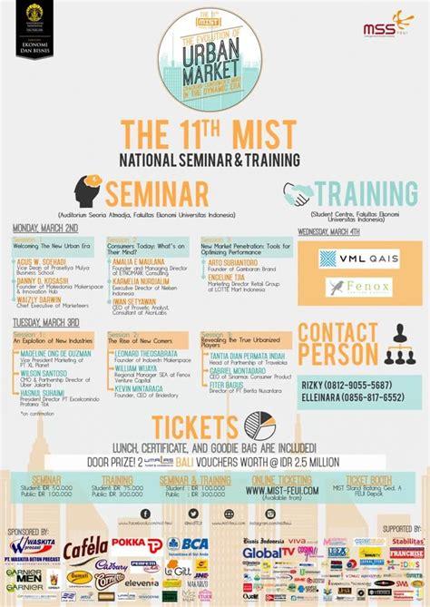 Expert Marketing Dan Tutorial seminar dan marketing nasional mist