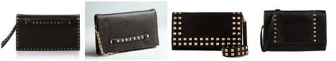 Can You Guess All Four Designer Clutches by Wear It For Less Gigi Hadid Striped Dress