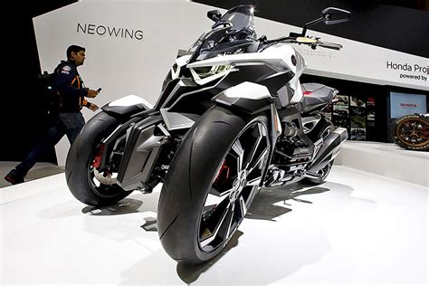 Dreirad Motorrad Honda by Tokyo Motor Show Concept Studie Honda Neowing Atv