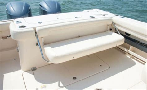 boat transom bench seat wellcraft folding seat transom leanpost the hull truth