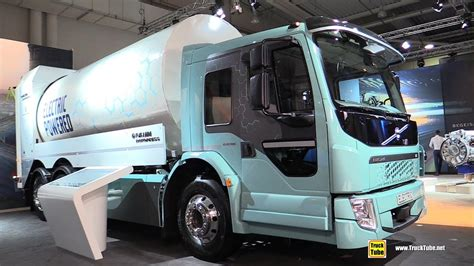 volvo electric truck 2019 2019 volvo fe electric garbage truck exterior and