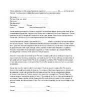 Lease Letter Pet How To Write An Addendum To A Lease With Sle Addendums